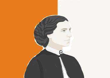 Illustration Clara Barton